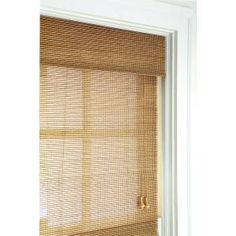 Home Decorators Collection Natural Multi-Weave Bamboo Roman Shade - 48 in. W x 72 in. L 0258148 at The Home Depot - Mobile