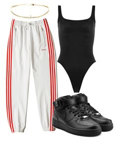 """"""""""" by maritkrijt ❤ liked on Polyvore featuring Norma Kamali and NIKE"""