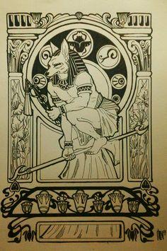 Anubis Ancient Egyptian Religion, Egyptian Mythology, Egyptian Art, Anubis, Egypt Concept Art, Pagan Gods, Legends And Myths, Wicca, Ancient Artifacts