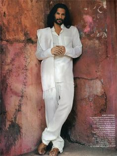 Milind Soman in Vogue India the May 2008 issue