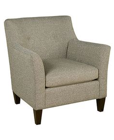"Arlene Fabric Living Room Chair, 33""W x 36""D x 34""H - Chairs & Recliners - furniture - Macy's"