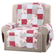 Protect your recliner in style with the Sure Fit Heirloom Quilt Furniture Pet Protector Recliner Cover . This single piece cover features durable,. Recliner Cover, Recliner Slipcover, Chair Cushions, Chair Pads, Furniture Covers, Chair Covers, Diy Furniture, Furniture Removal, Antique Furniture