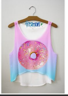 Donut crop top from FRESH TOPS