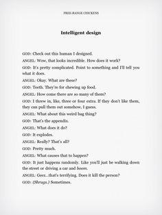 Intelligent Design?