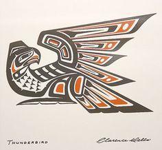 native american thunderbird vector - Google Search