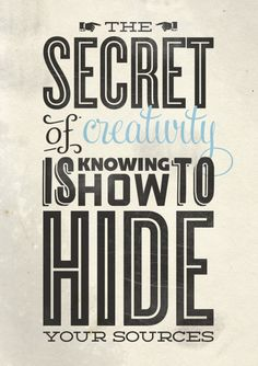This is so very true. I've practiced this very thing for years. LOL.  #typography #quote #creativity