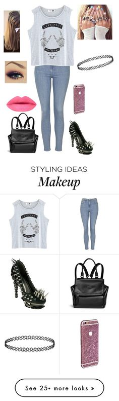 """Untitled #923"" by cutiepie92343 on Polyvore featuring HADES, Topshop, Givenchy, women's clothing, women, female, woman, misses and juniors"
