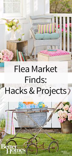 Get inspired to update your home with budget-friendly flea market finds. Check out all the fabulous ways this home is decorated with style from flea market decorations. Give your home a new and improved look for summer on a budget with these ideas.