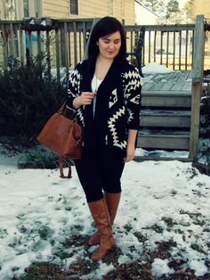 Rebecca Lately // Winter sweater