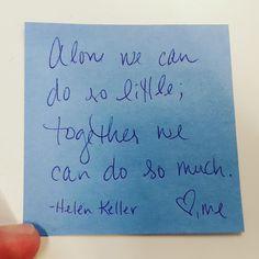 Lunch Box Wisdom 3 Apr 2018... #lunchboxwisdoms #dailymotivation #myslightedge #wendyswisdoms #hellenkeller #inspirationalquotes #quotes #quote #inspiration #inspirationalquote #quoteoftheday #motivation #motivationalquotes #positivethinking #inspirational #life