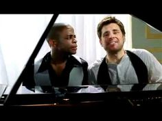PSYCH Sing Along Ebony  and Ivory  shawn and gus are rly good at singing.. i cant wait to see the musical! love from a psych-o
