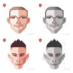 Arsenal 2014/2015 - Daniel Nyari Graphic Design & Illustration