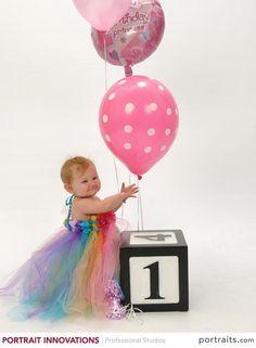 Birthday Tutu Dress by www.BlissyCouture.net