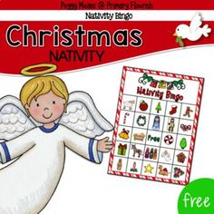Are you looking for a fun game for your Christian Classroom or Sunday School class? This sweet Nativity Bingo is sure to spark precious discussions and appreciation for God's Greatest Gift!