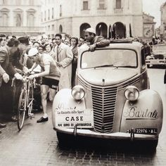 Gino Bartali Tour of Lombardy 1950 hortoncollection