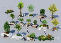 11102. Free 3D Pot Plant Models Download Trees To Plant, Potted Plants, Planter Pots, Exterior, Models, 3d, Free, Pot Plants, Templates