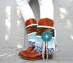 Hey, I found this really awesome Etsy listing at https://www.etsy.com/listing/150245854/desert-angel-fringe-tribal-boot-cuffs