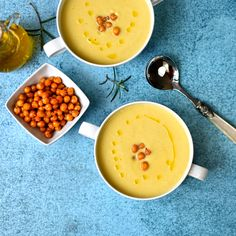 chickpea soup with rosemary oil – The Circus Gardener's Kitchen