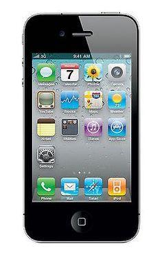Apple iPhone 4 16GB 3.5Inch Display 5MP iOS 4 Unlocked GSM Phone - Black - New   eBay