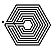 """via GIPHY EXO """"Overdose"""" Logo"""