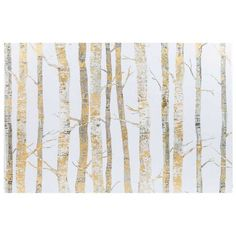 Get 24 x 36 Cream & Gold Birch Trees Canvas Art online or find other Wall Art products from HobbyLobby.com