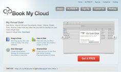 Book My Cloud, disco duro virtual en la nube con espacio ilimitado y gratuito http://bookmycloud.com/