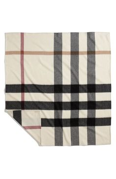 Burberry baby blanket...too cute!