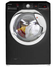 Hoover WDXOC686CB 8KG 6KG 1600 Spin Washer Dryer - Black.