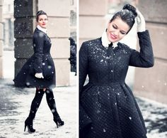 Classy winter outfit