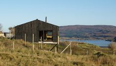 The Black Shed, architectural award winning self-catering accommodation based in Skinidin, Isle of Skye.