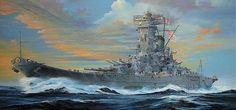 Were the Yamatos not the single best-looking battleship class ever?