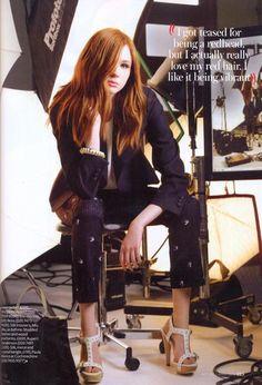 Karen Gillan - the Fashion Spot
