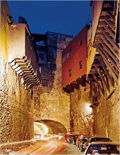 N.... Túneles debajo de la Ciudad de Guanajuato, Guanajuato, México.