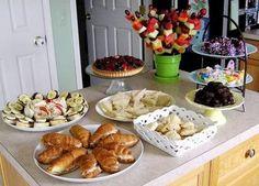 Summer Garden Party Menu Ideas | Katies Nesting Spot: Mothers Day Tea Party Girls Tea Party, Tea Party Birthday, Birthday Ideas, 3rd Birthday, Beignets, Tea Party Menu, Afternoon Tea Parties, Dinner Parties, Mothers Day Brunch