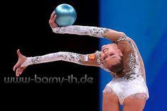 Alexandra SOLDATOVA (Russia) ~ Ball @ World Cup Baku-Azerbaijan   Bernd Thierolf.