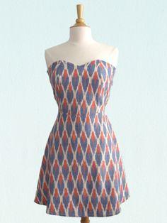 simple style tube dress
