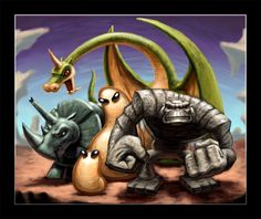 The Herculoids by VegasMike.deviantart.com on @deviantART