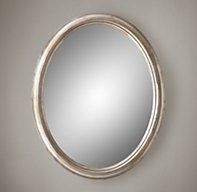 Antiqued Neoclassical Silver-Leaf Mirrors | Gilt | Restoration Hardware