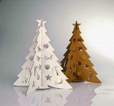Arboles de Navidad de cartón | Decorar tu casa es facilisimo.com