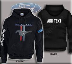 Ford Mustang Pony Racing Stripes Logo  Gildan Mens Tank Top T-shirt