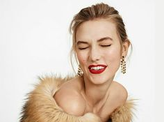 Karlie KLOSS  KATE SPADE FALL 2015 #karliekloss #fashion #katespade