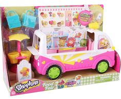 #Shopkins #Camion de #Helados + #Figuras #Canasta - #Serie4 #Figure #Original #Food #Comida #PopCorn #Coockie #Donuts #Fruit #CosasDeChicos #Collection #Toys #Kids #Juguete #Surprise #Truck #IceCream #Exclusive #Figure