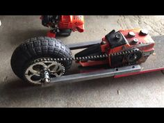 The Chainsaw Skateboard - YouTube