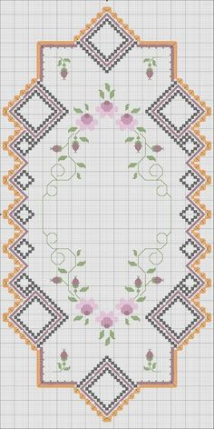 Hardanger Embroidery, Embroidery Stitches, Hand Embroidery, Cross Stitch Designs, Cross Stitch Patterns, Bargello, Drawn Thread, Embroidery Jewelry, Cross Stitch Flowers