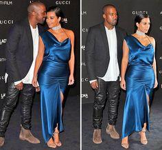 Was Kim Kardashian Displaying A Baby P At The Lacma Art And Film Gala Celebs24x7