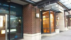 Printed graphics and transparent vinyl. Designed by Pixel Pop (www.pixelpop.ca) for PIER Dental Centre (pierdentalcentre.com). Produced and installed by FASTSIGNS Vancouver. Dental Center, Store Fronts, Vancouver, Centre, Windows, Graphics, Lettering, Pop, Printed