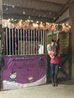 1000 Ideas About Stall Decorations On Pinterest Horse