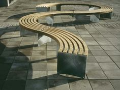 MODULAR BENCH VIA COLLECTION BY VESTRE | DESIGN ARTUR WOZNIAK, HALLVARD JAKOBSEN