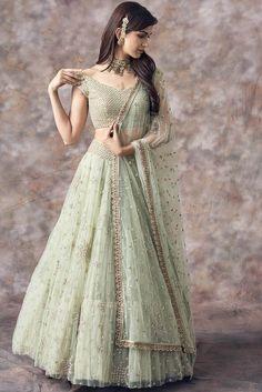 Kinas Designer Represent this Beautiful Designer Bridal Lehenga Choli in 2019 Designer Bridal Lehenga, Latest Bridal Lehenga, Bridal Lehenga Choli, Ghagra Choli, Net Lehenga, Lehenga Wedding Bridal, Lehanga Bridal, Bridal Lehngas, Bridal Gowns
