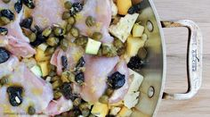 Autoimmune Paleo Oven Roasted Chicken with Olives and Capers AIP Lifestyle paleo protocol Omit olive oil, use ghee? Roasted Chicken Thighs, Oven Roasted Chicken, Rosted Chicken, Clean Recipes, Paleo Recipes, Real Food Recipes, Sin Gluten, Gluten Free, Sandwiches
